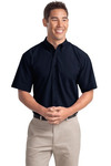 Short Sleeve Easy Care, Soil Resistant Shirt